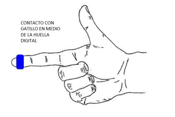 Manual para el Airsofter N° 31: Tecnica de Disparo con Pistola 4-contacto-con-el-gatillo